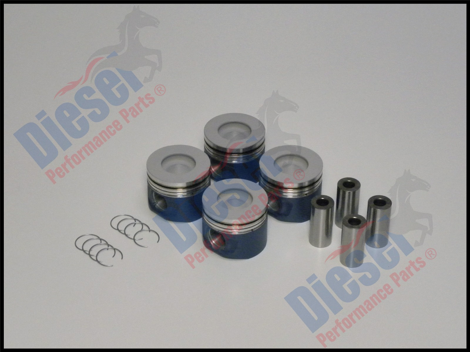 Performance 1KD-FTV pistons for Toyota Hilux and Prado